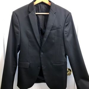 Black ZARA man Technical blazer US 44